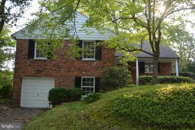 Bethesda Single Family Home For Sale: 5408 Christy Drive