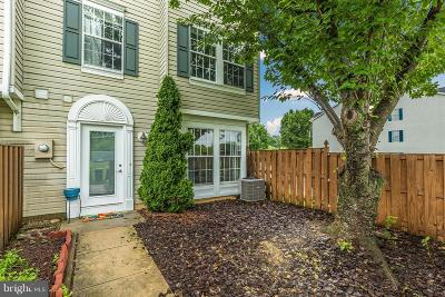 Frederick Townhouse For Sale: 5240 Regal Court