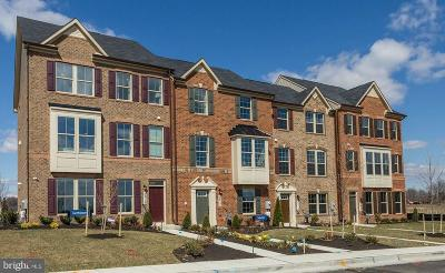 Upper Marlboro Townhouse For Sale: 10520 Norbourne Farm Road
