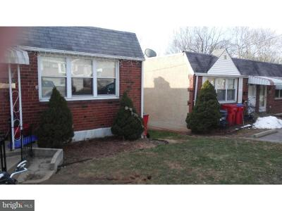 Norristown Single Family Home For Sale: 1718 Dartmouth Drive