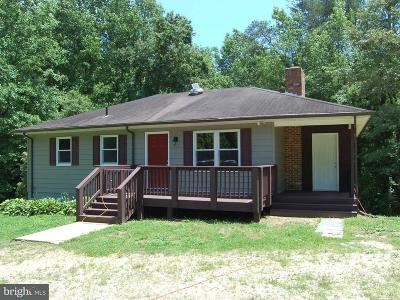 Caroline County Single Family Home Under Contract: 6388 Macedonia Road