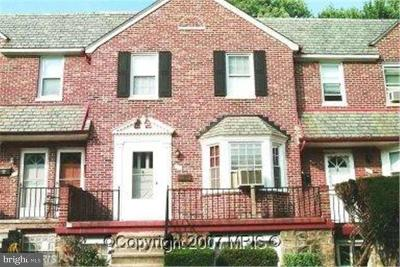 Baltimore MD Rental For Rent: $1,700