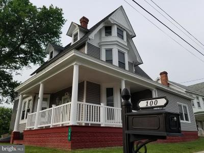 Sudlersville Single Family Home For Sale: 100 Church Circle