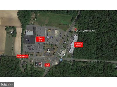 Vineland Residential Lots & Land For Sale: 141 N Lincoln Avenue