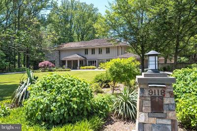Bethesda MD Single Family Home For Sale: $3,075,000