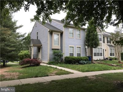 Gaithersburg Townhouse For Sale: 9500 White Pillar Terrace