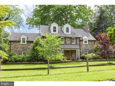 Bryn Mawr Single Family Home For Sale: 614 Woodleave Road