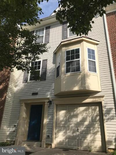 Oxon Hill Townhouse For Sale: 4603 Snowflower Boulevard