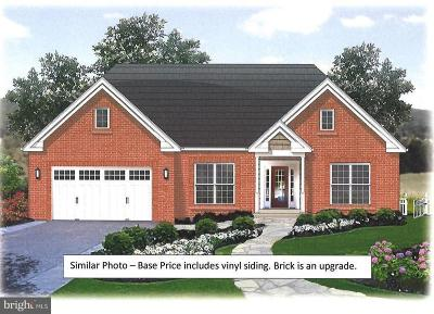Culpeper Single Family Home For Sale: Covington Home Place Lot 3