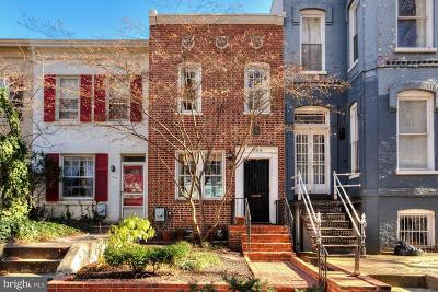Foggy Bottom Townhouse For Sale: 953 25th Street NW
