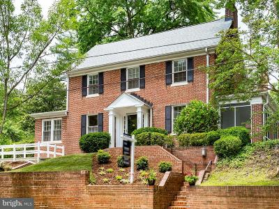 Washington Single Family Home For Sale: 4601 Chesapeake Street NW
