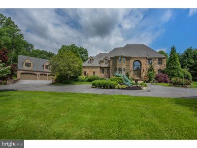 Chadds Ford PA Single Family Home For Sale: $1,650,000