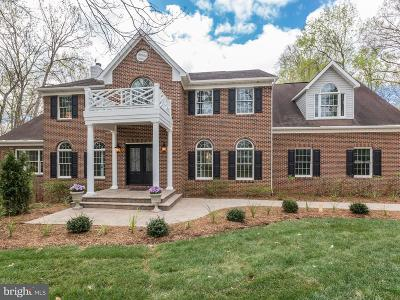 Great Falls VA Single Family Home For Sale: $1,498,000