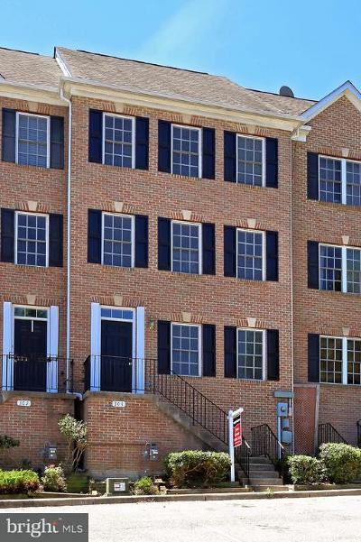 Occoquan Townhouse For Sale: 304 Center Lane