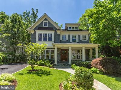 Chevy Chase Single Family Home For Sale: 4822 Drummond Avenue
