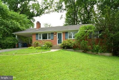 Falls Church VA Single Family Home Active Under Contract: $545,000