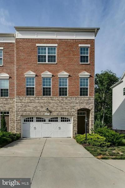 Loudoun County Townhouse For Sale: 42251 Castle Ridge Square