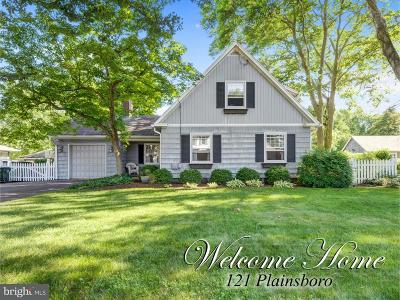 Cranbury Single Family Home For Sale: 121 Plainsboro Road
