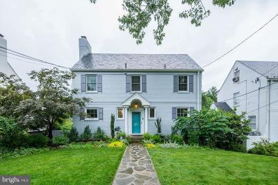 Chevy Chase Single Family Home For Sale: 3280 Chestnut Street NW