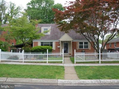 Silver Spring Single Family Home For Sale: 12605 Bluhill Road