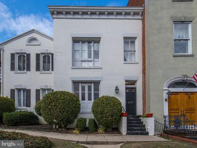 Washington Single Family Home For Sale: 3237 N Street NW #14