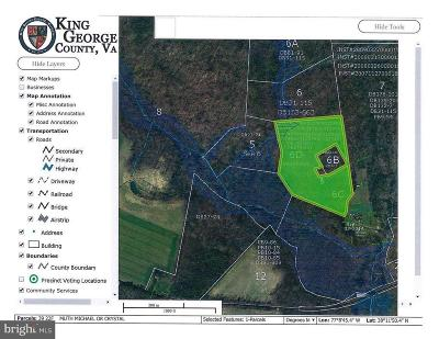 King George County Residential Lots & Land For Sale: Salem Church Road