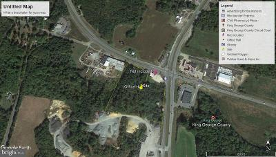 King George County Residential Lots & Land For Sale: James Madison Highway