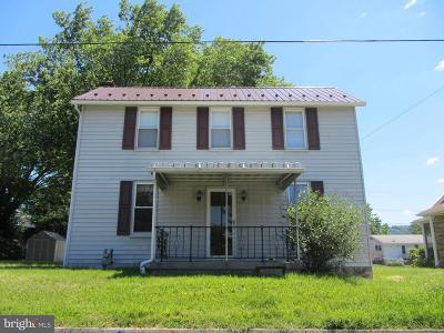 Cumberland MD Single Family Home For Sale: $94,900