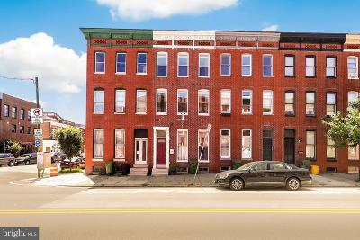 Baltimore Townhouse For Sale: 1436 Hanover Street