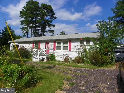 Colonial Beach Single Family Home For Sale: 441 Blackwell Road