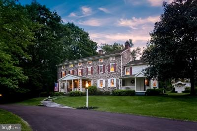 Bucks County Single Family Home For Sale: 1500 Sackettsford Road