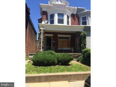 Philadelphia Single Family Home For Sale: 1011 W Duncannon Avenue
