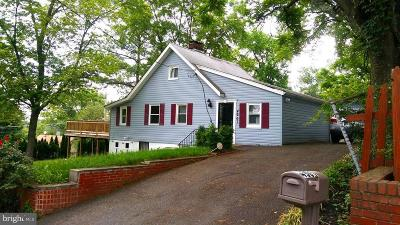 Capitol Heights Single Family Home Active Under Contract: 4901 Gunther Street