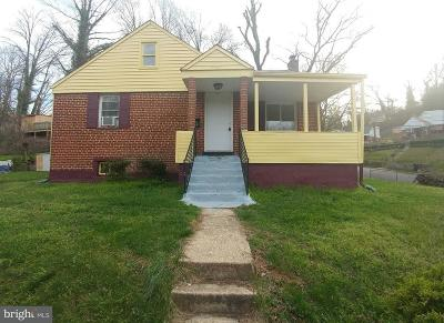 Hyattsville Single Family Home For Sale: 6801 Greenvale Parkway