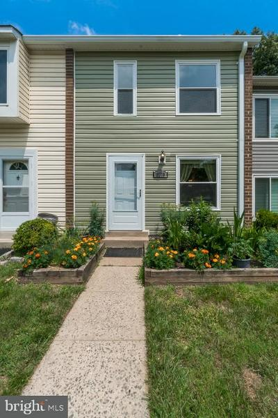 Silver Spring Townhouse For Sale: 10775 Lester Street