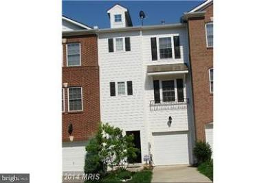 Gaithersburg Townhouse For Sale: 18707 Falling River Drive