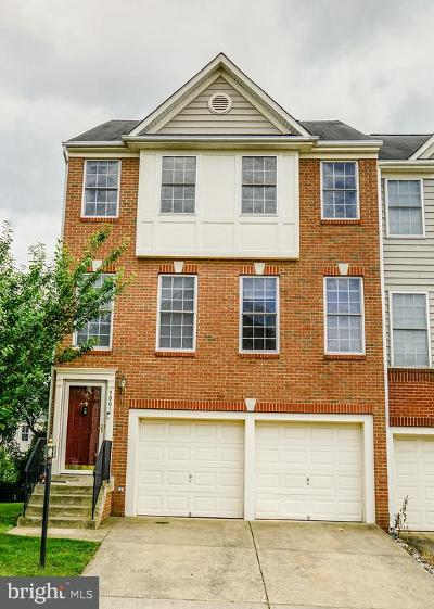 Prince William County Townhouse For Sale: 9001 Brewer Creek Place