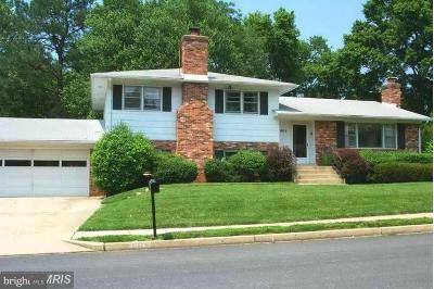 Vienna Single Family Home For Sale: 904 Woodnor Drive NE