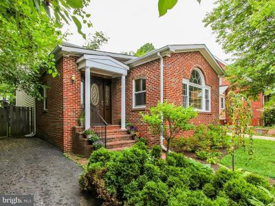 Fairfax County Single Family Home For Sale: 1618 Great Falls Street
