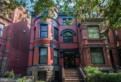 Single Family Home For Sale: 1306 Rhode Island Avenue NW #1