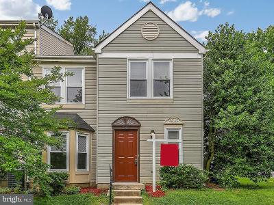 Silver Spring Townhouse For Sale: 1746 Wilcox Lane
