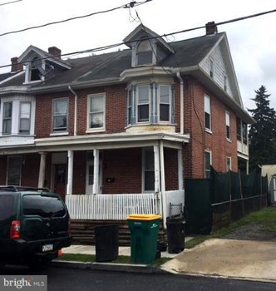 Chambersburg Single Family Home For Sale: 16 Garber Street