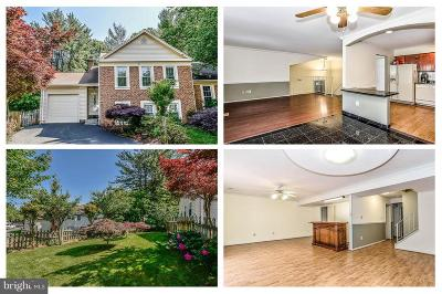 Burke, Springfield Townhouse For Sale: 10038 Wood Sorrels Lane
