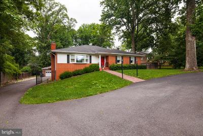 Mclean Single Family Home For Sale: 7920 Lewinsville Road