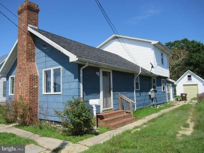 Crisfield Single Family Home For Sale: 26 Wynfall Avenue