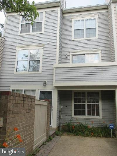 Gaithersburg MD Townhouse For Sale: $289,990