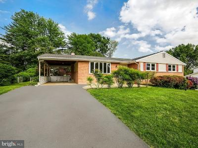 Laurel MD Single Family Home For Sale: $490,000