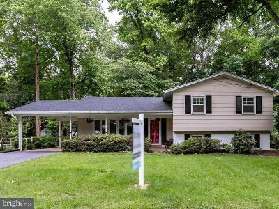 Alexandria Single Family Home For Sale: 8352 Wagon Wheel Road