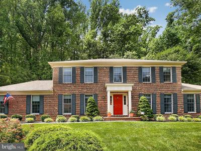 Fairfax Station Single Family Home Active Under Contract: 7210 Laketree Drive