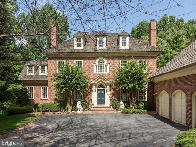 Bethesda MD Single Family Home For Sale: $1,898,000